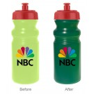 20 oz Sun Color Changing Cycle Bottle (Full Color)